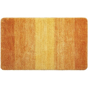 LAVIDA Badteppich - orange - 100% Mikrofaser - 60 cm   Möbel Kraft