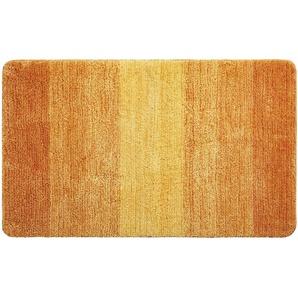LAVIDA Badteppich - orange - 100% Mikrofaser - 70 cm   Möbel Kraft