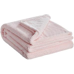 for friends Coralfleecedecke  Mia | rosa/pink | 100% Polyester | 150 cm | Möbel Kraft