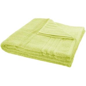 LAVIDA Duschtuch  Soft Cotton - grün - reine Micro-Baumwolle - 70 cm | Möbel Kraft