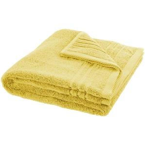 LAVIDA Handtuch  Soft Cotton - gelb - reine Micro-Baumwolle - 50 cm | Möbel Kraft