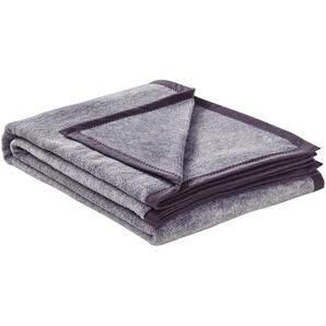LAVIDA Wohndecke  Catharina | grau | 60% Baumwolle, 40% Polyacryl | 150 cm | Möbel Kraft