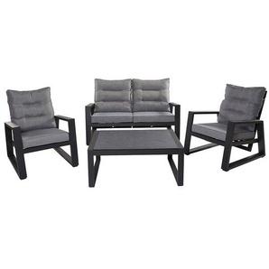 LC Garden Bondino Sofagruppe 4-tlg. Aluminium/Polster Anthrazit