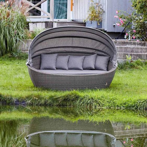 LC Garden Komido Loungeinsel Geflecht/Polster