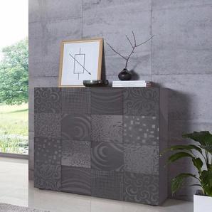 LC »Miro« Highboard, Breite 121 cm mit dekorativem Siebdruck