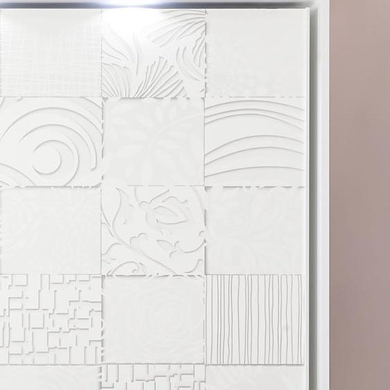 LC Passepartout Für Breite 220 weiß Zubehör für Kleiderschränke Möbel Schränke