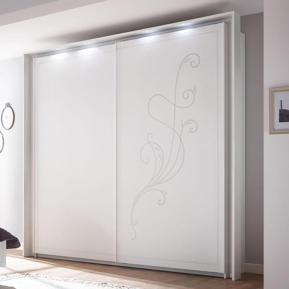 LC Passepartout Tivoli Für Breite 243 cm weiß Zubehör für Kleiderschränke Möbel Schränke