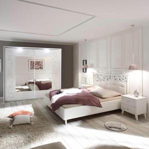 Lc  Schlafzimmer-Set (4-tlg.), weiß