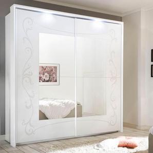 Lc Schwebetürenschrank »Soler«, Breite 225 cm, 2-türig, weiß