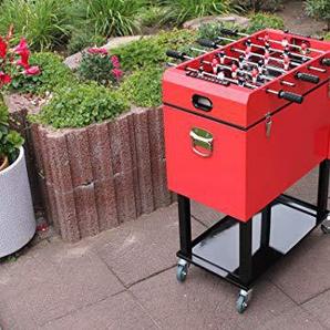 Leco Kicker Kühlbox Rot ca. L 69 x B 37 x H 83 cm