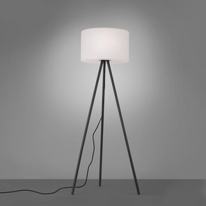 LED-Außen-Stehleuchte dreibein Holly Schwarz RGB und Warmweiß