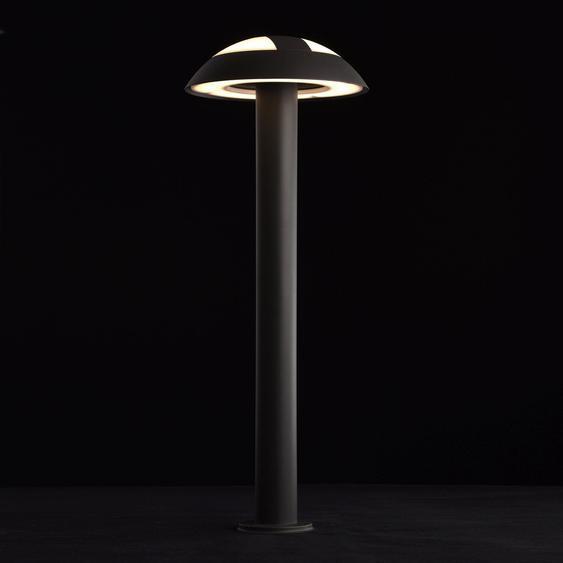 LED-Außenstehleuchte Merkur 1-flammig 16 W Schwarz Graphite EEK: A-A++