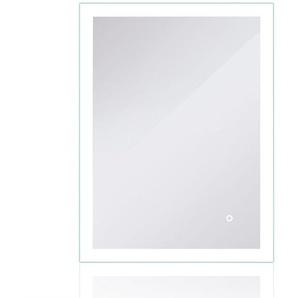 LED Badezimmerspiegel Badspiegel Wandspiegel Lichtspiegel Anti-Beschlag 70*50cm - WYCTIN