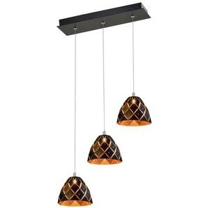 LED-Cluster-Pendelleuchte 3-flammig Honey