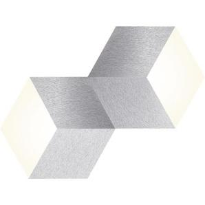 : LED-Deckenleuchte, Alu, B/H 30,6 53