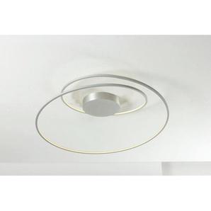 : LED-Deckenleuchte, Alu, H 30