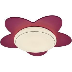 LED-Deckenleuchte `Blume´ - rosa/pink - 50 cm - 20 cm | Möbel Kraft