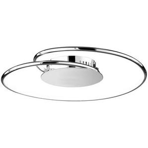 : LED-Deckenleuchte, Chrom, H 13