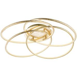 : LED-Deckenleuchte, Gold