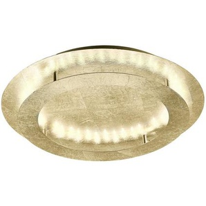 : LED-Deckenleuchte, Gold, B/H/T 50 8 50