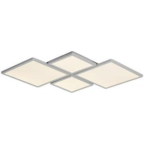 : LED-Deckenleuchte, Alu, Weiß, B/H 61 5,5