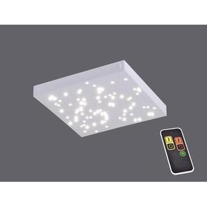 : LED-Deckenleuchte, Weiß, B/H/T 30 3,5 30