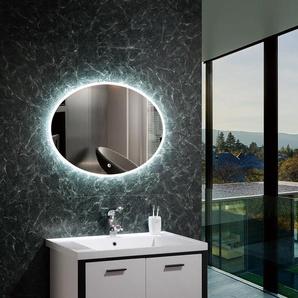 LED Deko Spiegel Hawai 45W Kaltes Weiß 6000K-6500K - LEDKIA