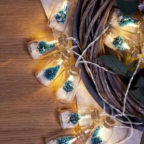 LED-Flaschen-Lichterkette