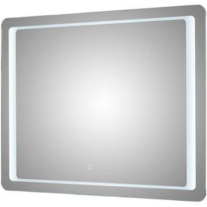 LED Funktionsspiegel | verspiegelt | 90 cm | 70 cm | 3 cm |