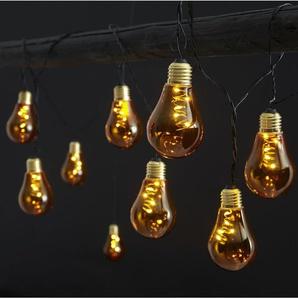 LED-Glühbirnen-Lichterkette 10-flammig Amalia
