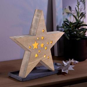 LED-Holzstern