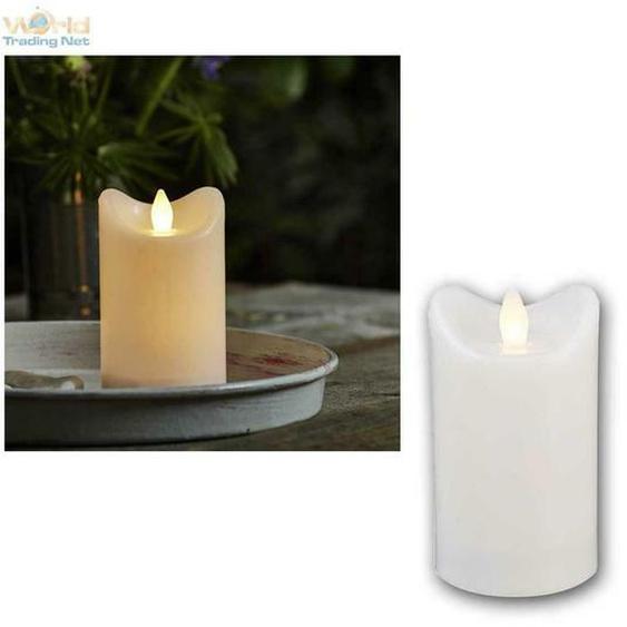 Led Kerze Für Außen Mit Timer, Flackernde Flammenlose Kerzen Outdoor