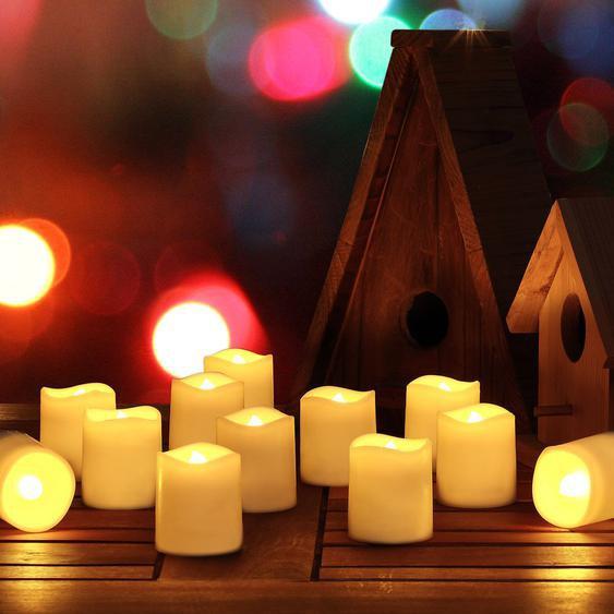 LED-Kerzen-Set