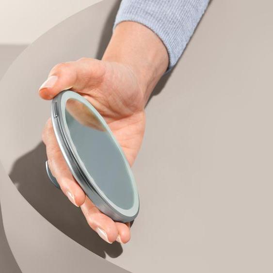 LED-Kosmetikspiegel - Silberfarben -