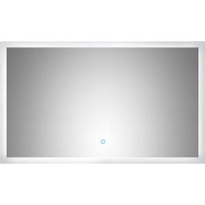 LED-Lichtspiegel 100x60 cm Neutralweiß mit Touch Bedienung EEK: A++