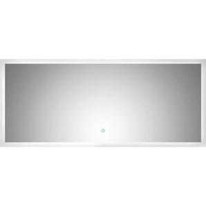 LED-Lichtspiegel 140x60 cm Neutralweiß mit Touch Bedienung EEK: A++
