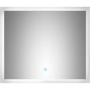 LED-Lichtspiegel 70x60 cm Neutralweiß mit Touch Bedienung EEK: A++