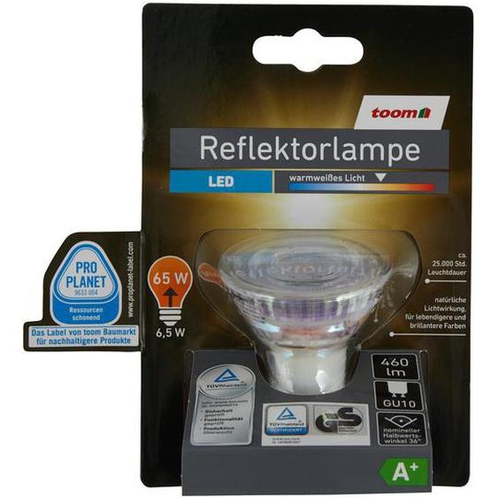 LED-Reflektorlampe GU10 460 lm 6,5 W warmweiß