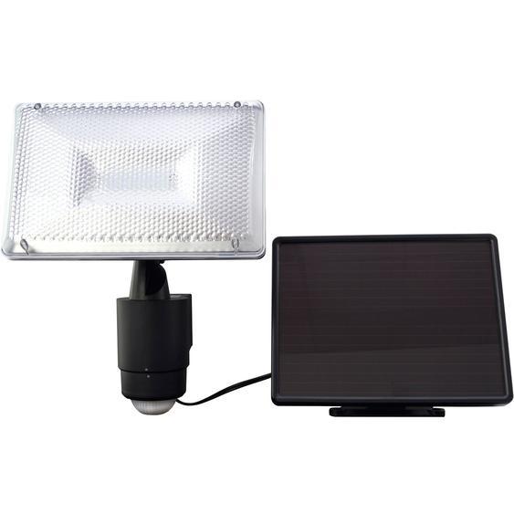 LED-Solar-Strahler mit Bewegungsmelder Schwarz
