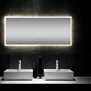 LED Spiegel 150x60 cm mit Heizung - Nie wieder beschlagene Spiegel