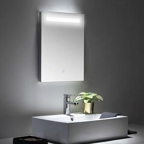 LED Spiegel 45x60 cm mit Touch Bedienung