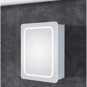 LED Spiegelschrank LEA 50cm, 1türig