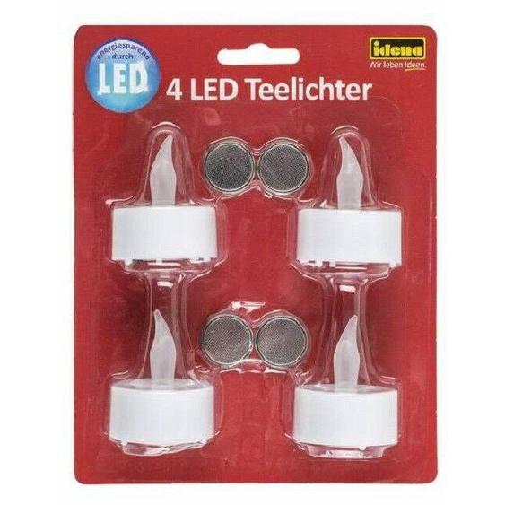 Led Teelichter Sets Elektrischeteelichter Led Kerzen Inkl.cr2032