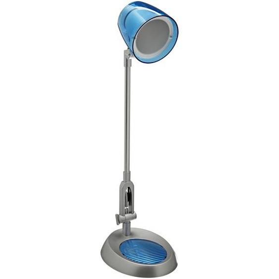 LED-Tischlampe Blau/silbern Ben