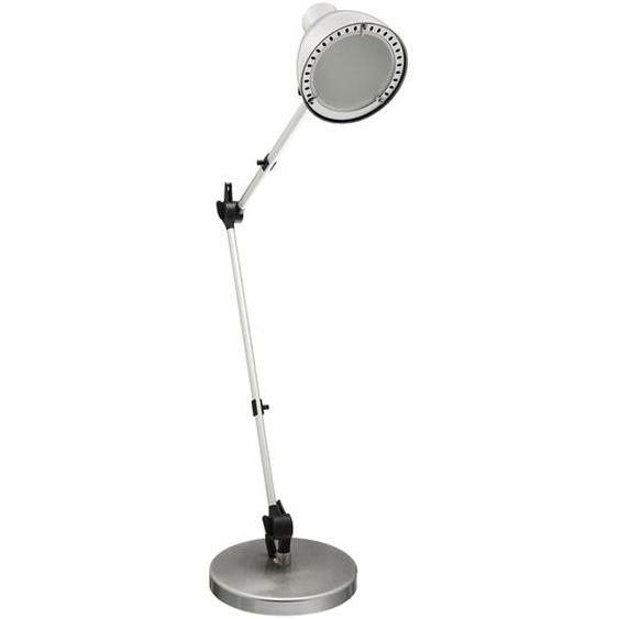 LED-Tischlampe Silbern Chris