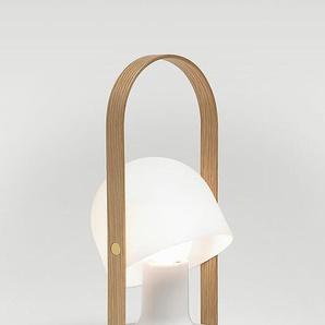 LED-Tischleuchte FollowMe Marset weiß, Designer Inma Bermúdez, 29x0x0 cm