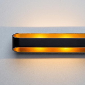 LED-Wandleuchte Grand Palais schwarz, 7x30x9.4 cm