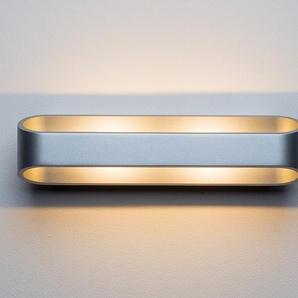 LED-Wandleuchte Grand Palais silber, 7x30x9.4 cm