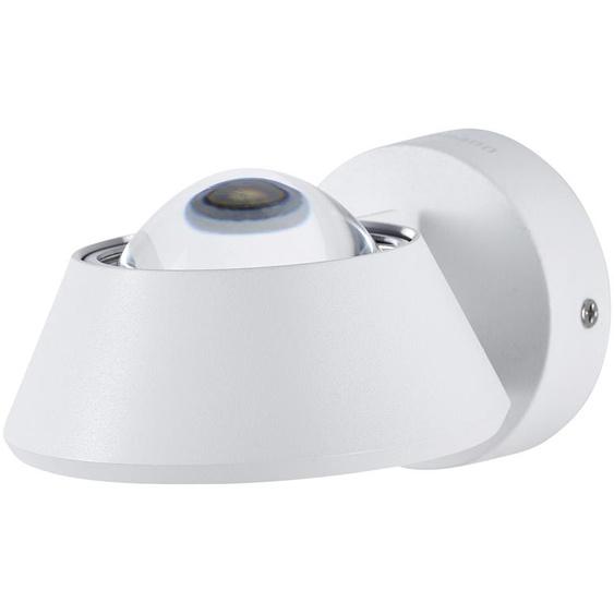LED-Wandleuchte mit indirekter Beleuchtung ¦ weiß