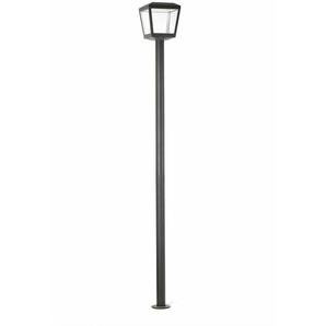 LED Wegleuchte Plaza aus Metall in Dunkelgrau 24W 3000K EEK A+ [Spektrum A++ bis E] - FARO